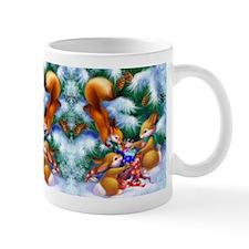 Cute Christmas Animals Small Mugs
