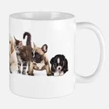 Cute Pet Panorama Small Small Mug