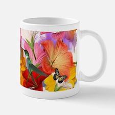 Hibiscus Butterflies Small Small Mug
