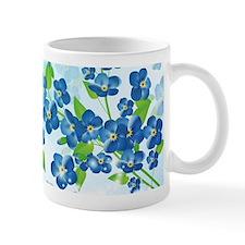 Forget Me Not Flowers Mug