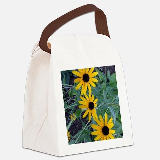 BlackEyedSusaniPadCase Canvas Lunch Bag