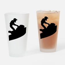jetski Drinking Glass