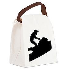jetski Canvas Lunch Bag