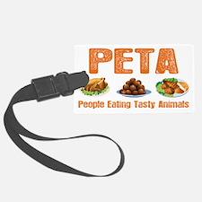 PETA Luggage Tag