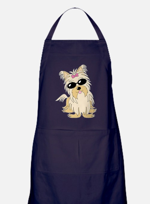 Sunglasses.gif Apron (dark)