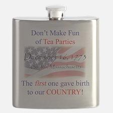 TeaPartyShirt Flask