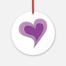Purple.gif Round Ornament