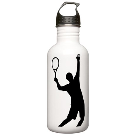tennis_aufschlag Stainless Water Bottle 1.0L