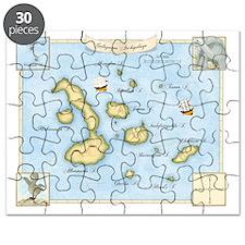 Galapagos Map Puzzle