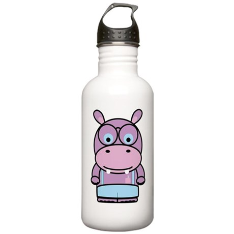 Hippo Nerd Stainless Water Bottle 1.0L