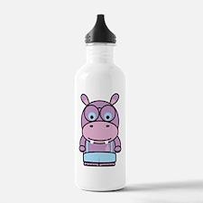 Hippo Nerd Water Bottle