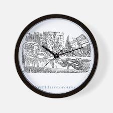 teaparty-dark Wall Clock