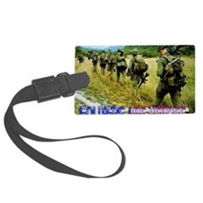 vietnam-soldiers-4 Luggage Tag