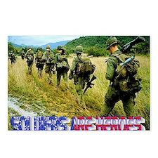 vietnam-soldiers-4 Postcards (Package of 8)