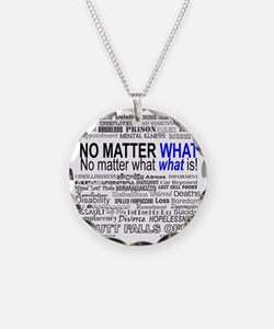 NoMatterWhatToo Necklace Circle Charm