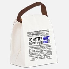 NoMatterWhatToo Canvas Lunch Bag