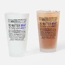 NoMatterWhatToo Drinking Glass