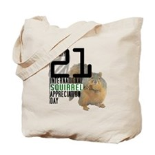 Squirrel Appreciation Day Shirt Tote Bag