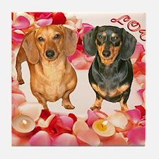 Happy Valentines Day12X16  Tile Coaster