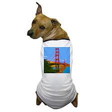 Cute Golden gate bridge Dog T-Shirt