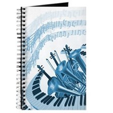 Cool Music Notes Journal