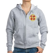 bache dd patch Zip Hoodie