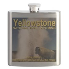yellowstone_np_1872_bison Flask