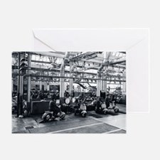 Scooter_Factory Greeting Card