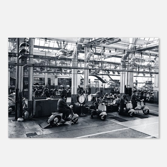 Scooter_Factory Postcards (Package of 8)