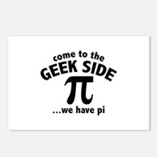Come To The Geek Side Postcards (Package of 8)