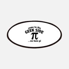 Come To The Geek Side Patches