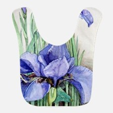 Purple Iris Bib