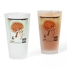 nuro cirugia Drinking Glass