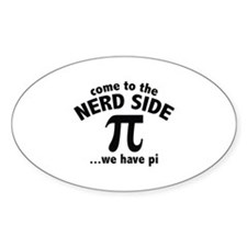 Come To The Nerd Side Decal
