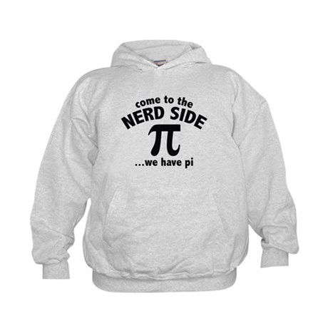 Come To The Nerd Side Kids Hoodie