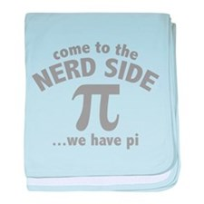 Come To The Nerd Side baby blanket