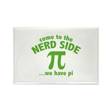 Come To The Nerd Side Rectangle Magnet