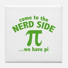 Come To The Nerd Side Tile Coaster