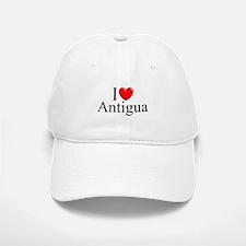 """I Love Antigua"" Baseball Baseball Cap"