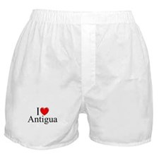 """I Love Antigua"" Boxer Shorts"
