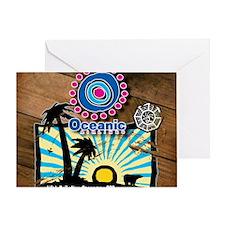 oceanicwoodvintageMPFINAL Greeting Card
