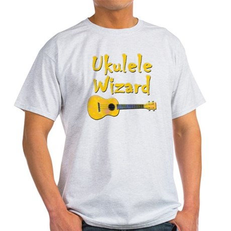 ukulele wizard ukulele t-shirts Light T-Shirt