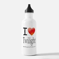 i love twilight Water Bottle