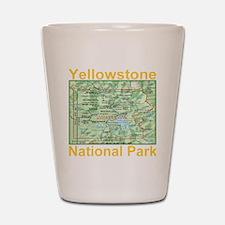 yellowstone_np_map_transparent Shot Glass