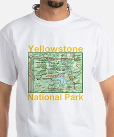 yellowstone_np_map_transparent Shirt