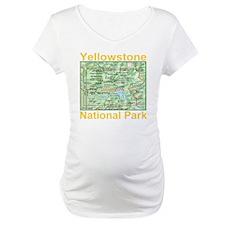 yellowstone_np_map_transparent Shirt