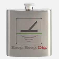 MD Beep Beep Dig Flask