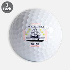 baltimore patch Golf Ball