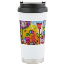 Love Tulip Travel Mug
