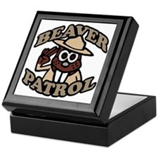 Beaver Patrol new design Keepsake Box